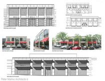 A 2 proposed facades presentation color copy cv