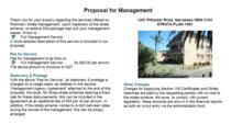 Proposal cv