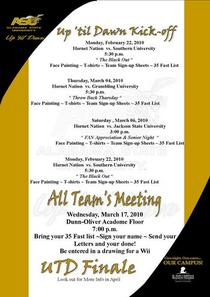 Utd upcoming events flyer 1  cv