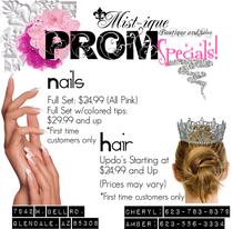 Prom specials  cv