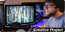 Creative project banner cv