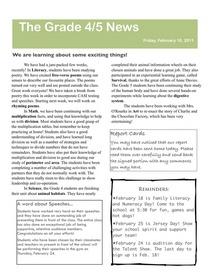 Newsletter february 18 cv