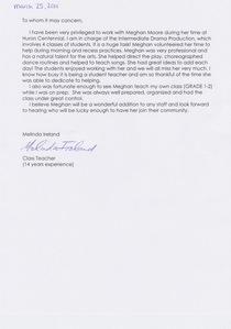 Melinda s letter 1 cv