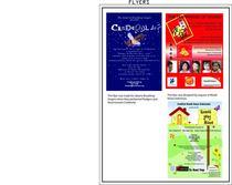 Portfolio photo flyer 1 cv