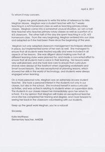 Kate s letter cv