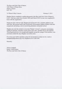 Alison s letter cv