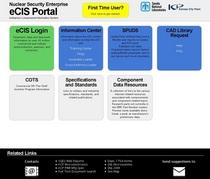 Ecis portal development cv