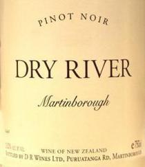 Dry river pinot noir cv