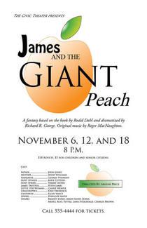 Giant peach poster cv
