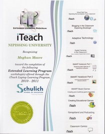 Iteach certification cv