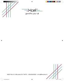 Xcel letterhead cv