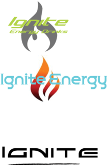 Energy drink logo cv
