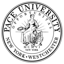 Pace university official seal xlarge cv