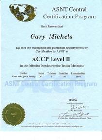 Accp vt ii 2004 cv
