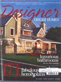 Designer dream homes cover cv