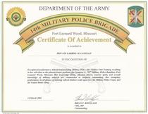 Coa platoon leader cv