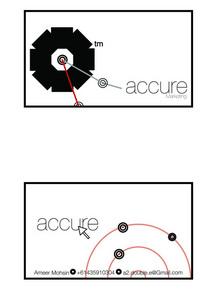 Accure card cv