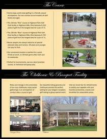 Golf concept page 2 cv