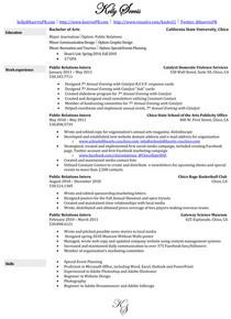 Resume spring 2011 cv