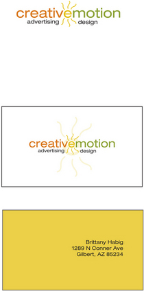 Creative emotion 1 cv