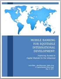 Mobile banking cover cv