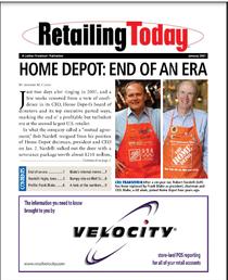 Home depot article cv