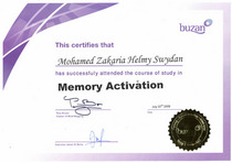 Buzan  memory activation cv