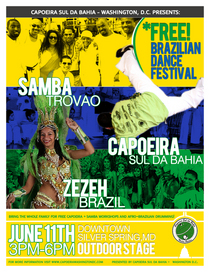 Dance festival flyer c cv