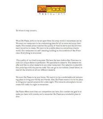 De plaats letterhead cv