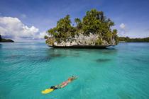 Snorkeling in micronesia palau cv