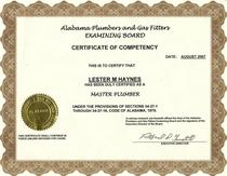 Certification documents cv
