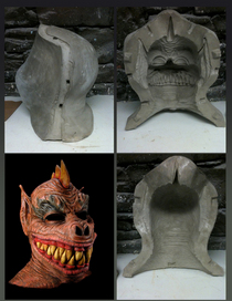 Rubber mask and mold cv