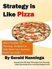 Strategy like pizza book cover cv