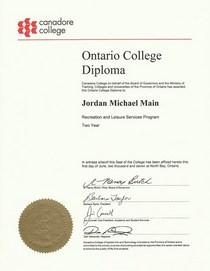 Rec diploma cv