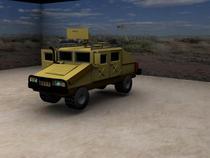 Humvee render 2 cv