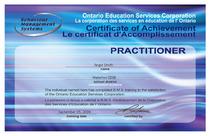 Bms certificate cv