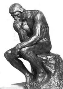 The thinker cv