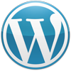 Wordpress icon blue m cv