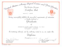 Usar signal center diploma cv