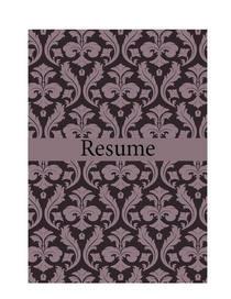 Resume1 cv