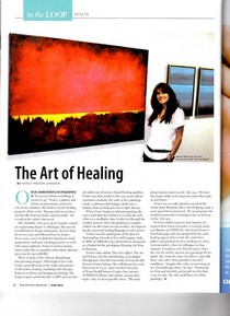 The art of healing san antonio magazine june 2011 cv