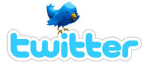Twitter logo with bird 450 cv