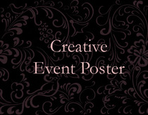 Event poster icon cv