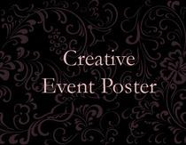 Event poster icon cv