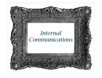 Internal comm cv