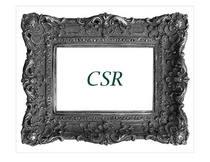 Csr cv