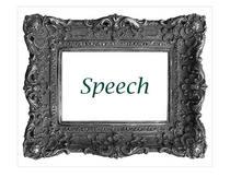 Speech cv
