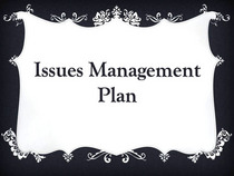 Issuesmanagment cv