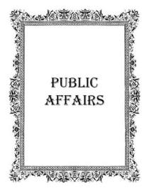 Public affairs icon good 3 cv