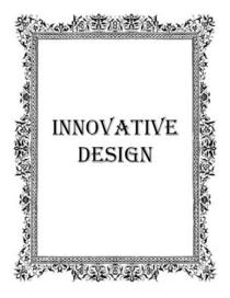 Innivative design icon good 3 cv